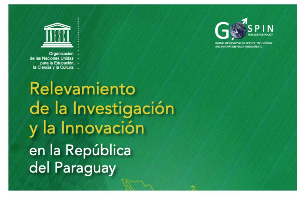Relevamiento de la investigacion y la innvoacion en la republica de paraguay
